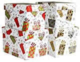 2er Set Geschenkbox Weihnachten - Geschenkkarton, Geschenkverpackung sortiert