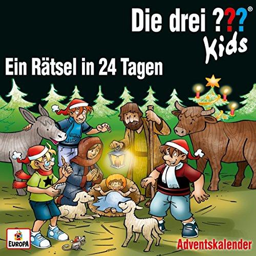 """Die drei ??? Kids Adventskalender """"Ein Rätsel in 24 Tagen"""""""