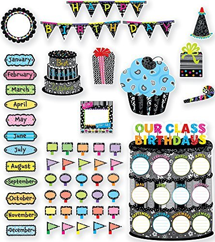 Creative Teaching Press Happy Birthday Bulletin Board Set (7052) by Creative Teaching Press
