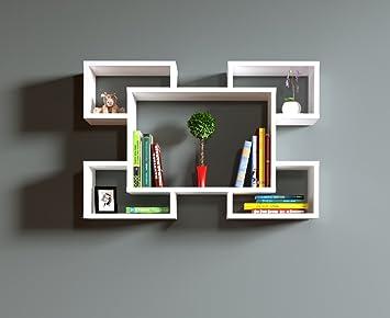 Hängeregal design  RACKY - Wandregal - Hängeregal - Bücherregal - Dekoregal in ...