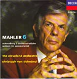 Mahler-Symphonie N 6-Schoenberg:5pieces Orch-Dohnanyi-Clev.O