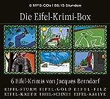 Die Eifel-Krimi-Box (6 Eifel-Krimis von Jacques Berndorf, Gesamtlaufzeit 56:15 Stunden, ungekürzte Lesung auf 6 MP3-CDs) - Jacques Berndorf
