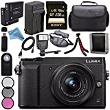 #3: Panasonic Lumix DMC-GX85 DMCGX85 Digital Camera with 12-32mm Lens+37mm 3 Piece Filter Kit (DMC-GX85K-4)