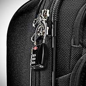 a25ab679ac03 TSA Cable Lock - 3 Digit Combination [Zinc Alloy Material] - BEZ® Best TSA  Approved Lock For Travel Safety and Security - Lock Alert, Heavy Duty, ...