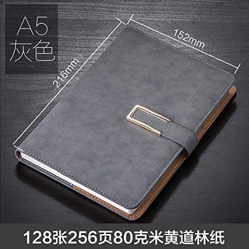 WRITIME Notizbuch A5 grau Strap Abzug Notebook Schreibwaren verdickte Oberfläche Business Notebook Notizblock benutzerdefinierte LOGO