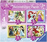 Ravensburger 7397 Disney Princess 4 in a box (12, 16, 20 and 24 Pieces) Jigsaw Puzzles