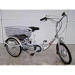 xGerman eléctrico triciclo 20Zoll 3Gang 250W 36V, hasta 65km de alcance