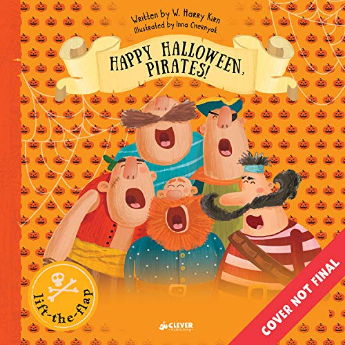 Happy Halloween, Pirates!: Lift-The-Flap Book (Clever -