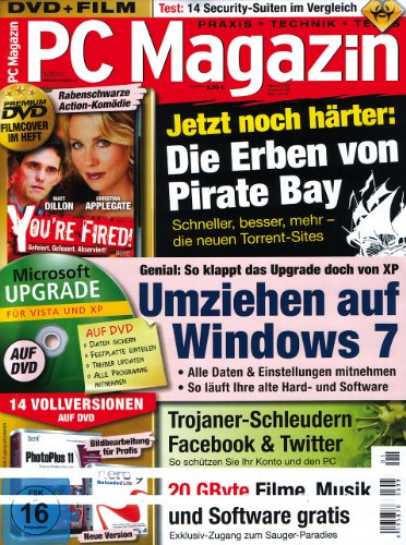 """PC Magazin 01/10 mit Film """"You're Fired"""""""