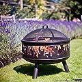 La Hacienda Wildfire Firepit Grill