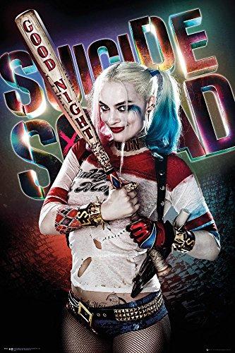 Close Up - Poster Suicide Squad - Harley Quinn (61 cm x 91,5 cm) + una Sorpresa