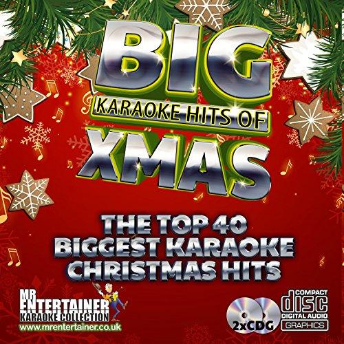 Karaoke Christmas Songs.Mr Entertainer Big Karaoke Hits Of Christmas Double Cd G Cdg Pack 40 Classic Xmas Songs