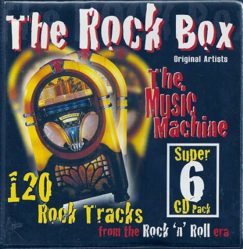 The Rock Box: The Music Machine (Super 6 CD Pack) 120 Rock Tracks from the Rock 'n' Roll era by Various Artists 120 Roll Pack