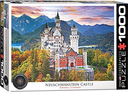 Neuschwanstein Castle Germany 1000pc Puzzle