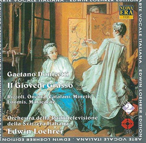 Preisvergleich Produktbild Gaetano Donizetti: Il Giovedi Grasso (Oper) (Gesamtaufnahme)
