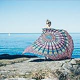 Starsglowing Toallas de playa, Indian Mandala Beach Towel, kimono Túnica, 148cm x 210cm (M)