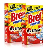 2x Henkel Bref Power 6x Effekt WC-KraftTabs 12 Tabs Toiletten Reiniger