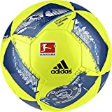 adidas Dfl Glider Fußball, Top:Solar Yellow/Eqt Blue/Silver Met,/Shock Blue Bottom:Blue Glow/Iron Met, 5