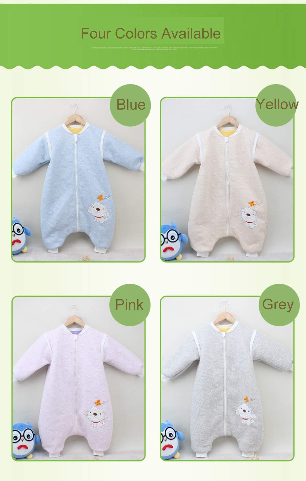 BabyFat Sacos de Dormir/Pijama para Bebé Niño Unisex Otoño/Invierno 2.5 Tog