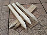 """20 Pack 12"""" (300mm) TREATED SITE PEGS WOODEN STAKES POSTS PEGS"""