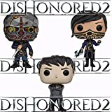 Dishonored 2 Outsider, Emily, Corvo Pop! Vinyl Figures Set of 3 by Dishonored