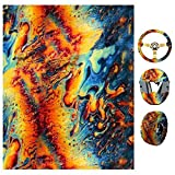 Fafalloagrron Film hydrographique Impression par transfert à l'eau Hydro Dipping Film Hydro Dip pour décoration de guitare de la maison automobile Décoration d'intérieur S Comme sur l'image