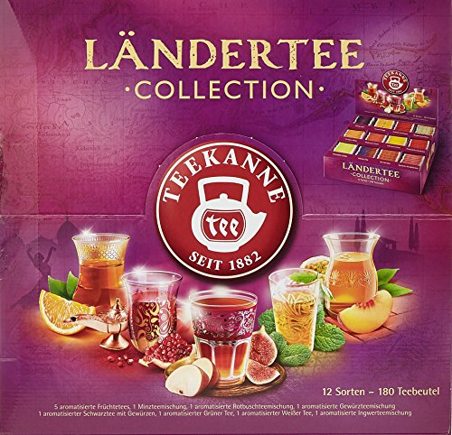 Teekanne Ländertee Collection Box, 1er Pack (1 x 383.25 g) (Minze Wasser)