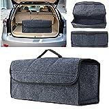 Sedeta® Untimate Organisateur de coffre de voiture Siège en feutre Dos arrière Porte-sacoche de voyage Porte-sac en intérieur pour SUV