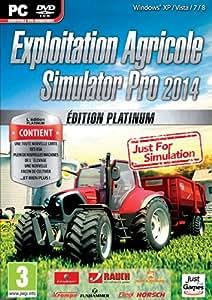 Exploitation Agricole Pro Simulator 2014 - édition platinum