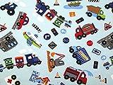 Minerva Crafts Cars & Fahrzeuge Print Stretch Knit Jersey