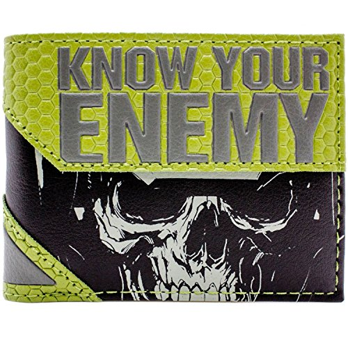 Cartera de Activition Call of Duty La guerra infinita Gris