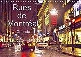 Rues de Montréal : Montréal en toutes saisons et en toutes circonstances. Calendrier mural A4 horizontal 2016