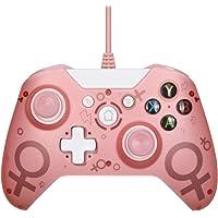 Lilon - Controller USB Wired per Xbox One, controller PC, giochi per vincere 7 8 10 Microsoft Xbox One Joysticks Gamepad…