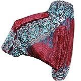 PANASIAM Aladin Pants, Design-Style: Mandala 5, Bordeauxrot
