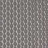 Fabulous Fabrics Spitzenstoff Kreise – Silber —