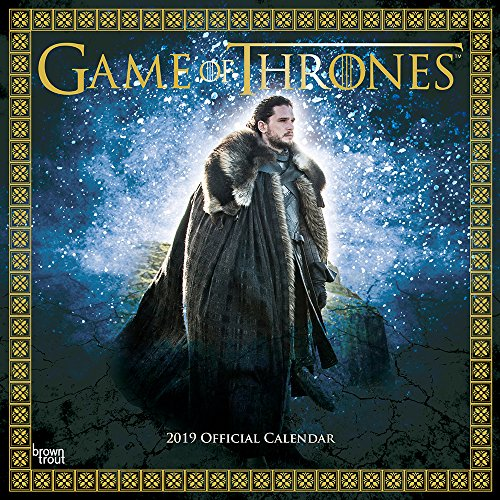 GAME OF THRONES 2019 SQUARE WALL CALENDA