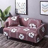 Anti-rutsch-schutzhüllen,Möbel protector Hohe elastizität haustiere und kinder couch abdeckung Schnittsofa werfen pad-D 1 Seater(35*55inch)