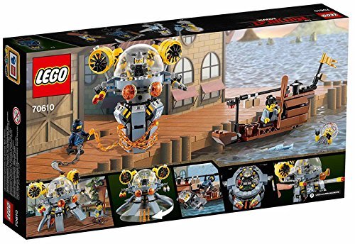 Lego 70610 The Lego Ninjago Movie - Flying Jelly Sub Best Price and Cheapest