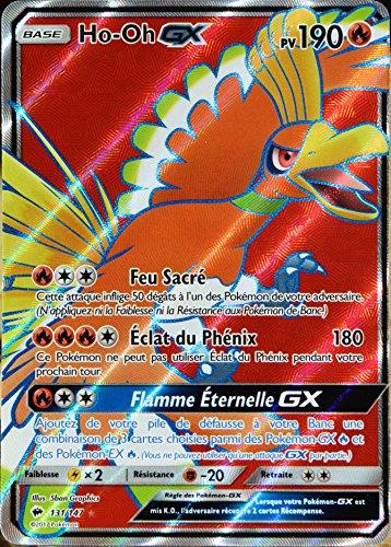 carte Pokémon 131/147 Ho-Oh GX 190 PV - FULL ART