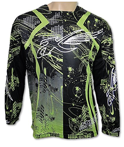 ATROX Motocross Jersey MX Shirt Trikot GRUEN