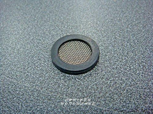 Filtre en maille Gaze Rondelle 3/10,2 cm BSP pour machine à laver/lave-vaisselle/robinet de douche Tuyau en différentes tailles de Lot, BLACK & METALIC, NUMBER OF WASHER(S)=5