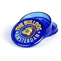 """Bulldog Amsterdam Grinder pour Spice, Herb Moulin Broyeur avec Pollen Catcher 2"""" (4cm) -Plastique Acrylique - Bleu 3…"""