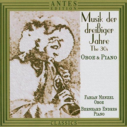 Musik der dreißiger Jahre für Oboe und Klavier