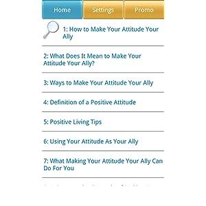 you attitude definition