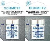 2 Schmetz Stretch Zwillingsnadeln N...