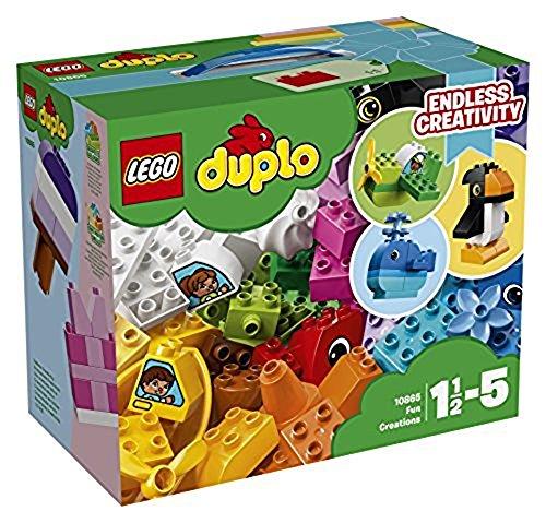 Eimer Lego Duplo (LEGO Duplo 10865 - Witzige Modelle, Spielzeug für das Kindergartenalter)