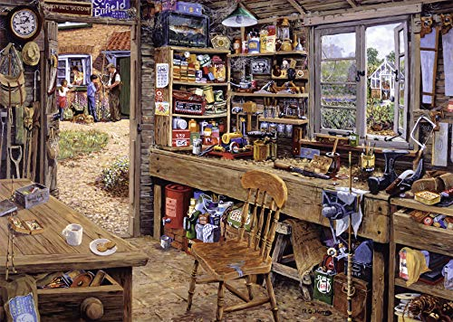 Dad's Shed 500 Piece Large Format Puzzle