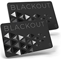 Blackout by AKIELO – Ultra Thin RFID Blocking Card (2 x Pack) – The Single Solution to Contactless Card Protection – The…