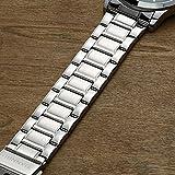 DREAMING Q&P Unisex Analog Quarz Paar Uhr mit Edelstahl Armband Schwarz Weiß 2ER-SET-MW102GBW
