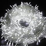 Guirlandes Lumineuses , 30M Etanche 300 LEDs avec 8 Modes de Fonctionnement Fée LED pour Mariage, Anniversaire, Sapin de Noël, Cour, Jardin, Décoration d'extérieur et intérieure